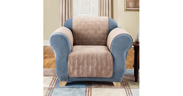 Kohl Furniture Store: Sure Fit Furniture Friend Faux-Suede Chair Pet Cover