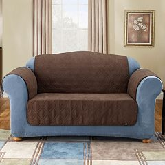 Sure Fit Furniture Friend Faux-Suede Sofa Pet Cover