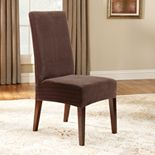 Sure Fit? Pin-Striped Dining Chair Slipcover