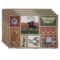 Park B. Smith® 4-pk. Western Placemats