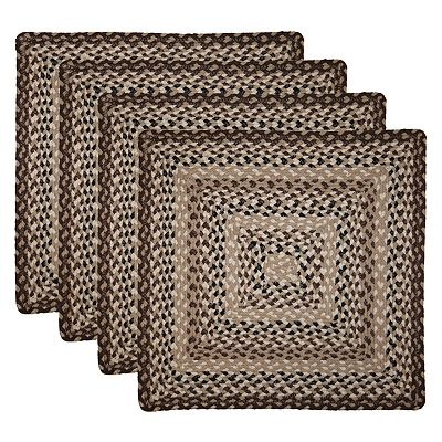 Park B. Smith 4-pk. Montague Braided Placemats