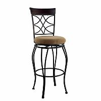 Linon Curves Bar Stool