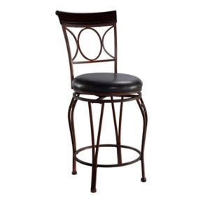 Linon Circles Counter Stool