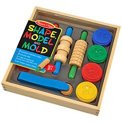 Melissa & Doug Shape, Model & Mold Modeling Clay Kit