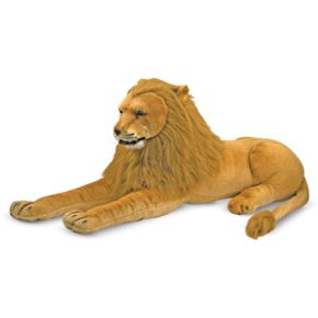Melissa and Doug Lion Plush Toy