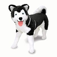 Melissa & Doug Husky Plush Toy