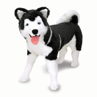 Melissa and Doug Husky Plush Toy