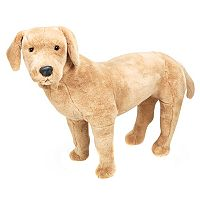 Melissa & Doug Yellow Lab Plush Toy
