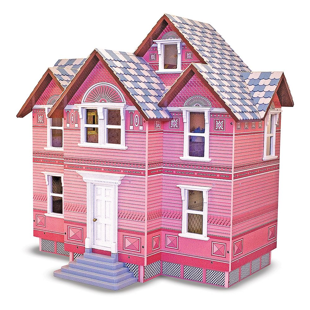 Melissa Doug Victorian Dollhouse
