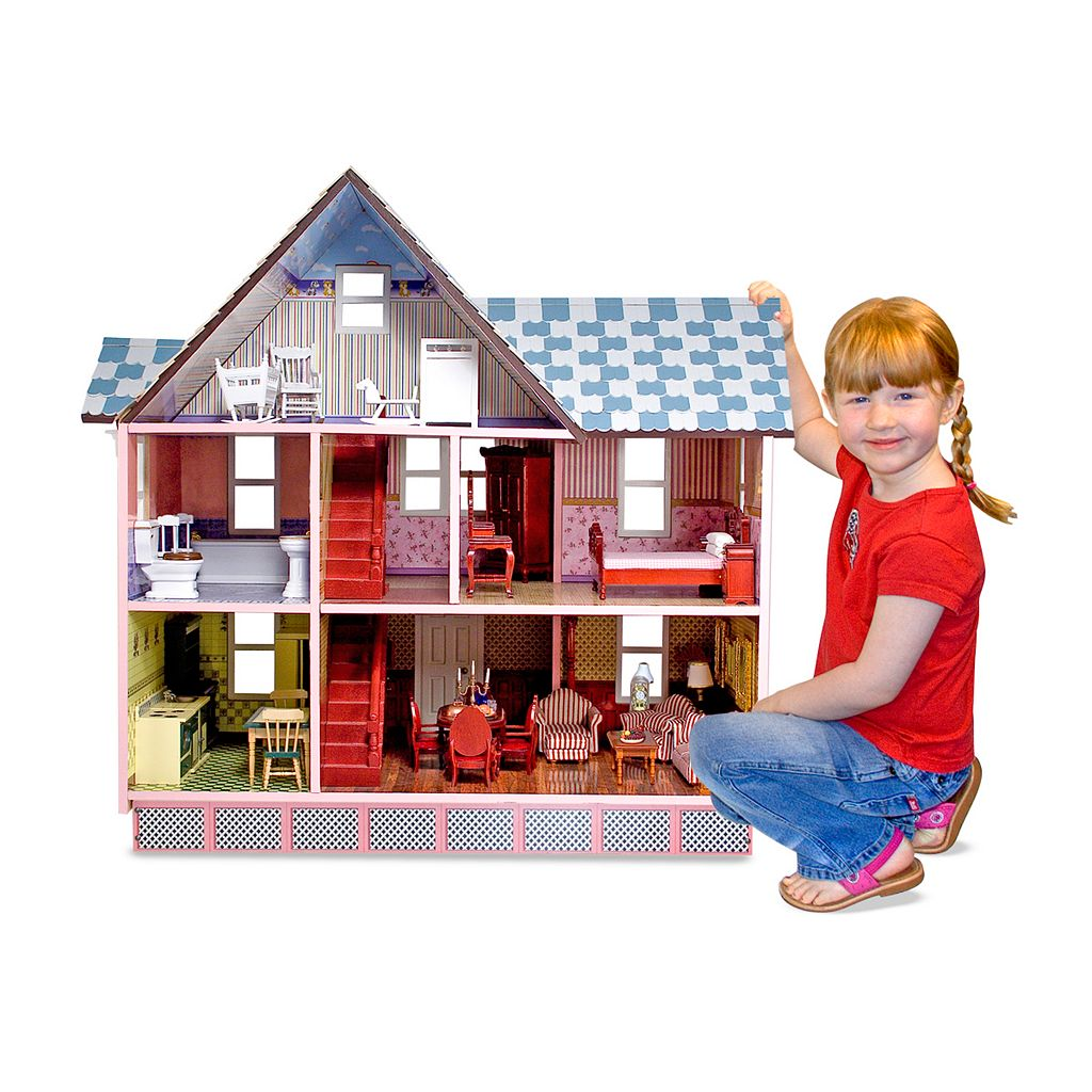Melissa and Doug Victorian Dollhouse