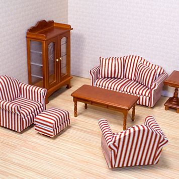 Melissa & Doug Living Room Furniture Set