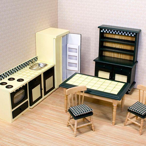 Melissa Doug Kitchen Furniture Set