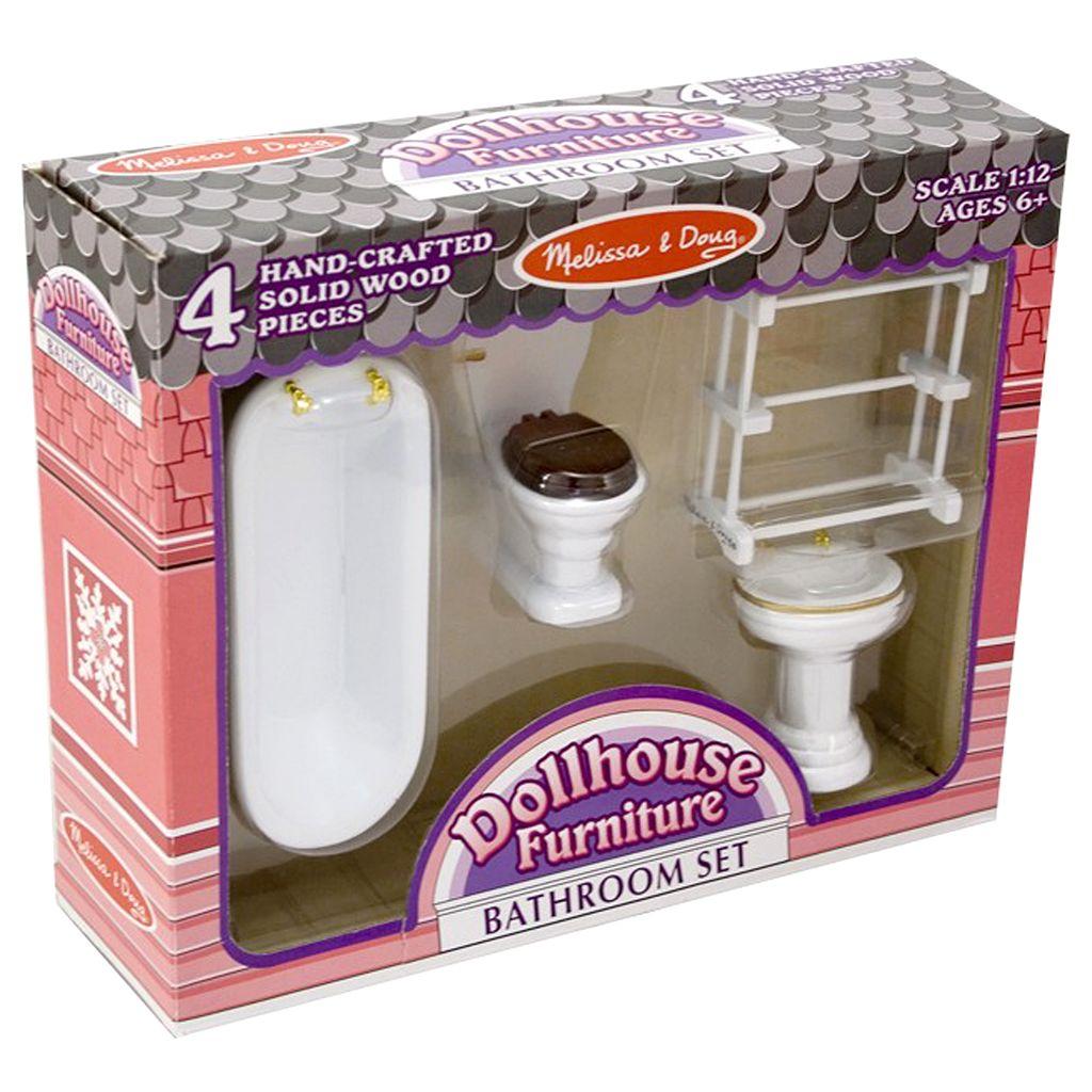 Melissa & Doug Bathroom Furniture Set