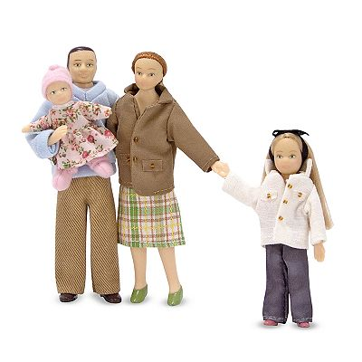 Melissa and Doug Victorian Doll Family