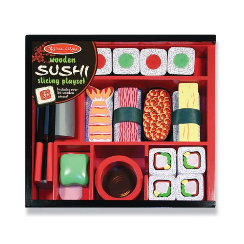 Melissa and Doug Sushi Slicing Playset