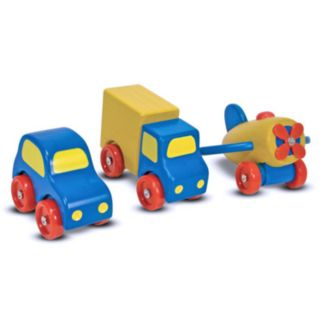 Melissa and Doug First Vehicles Set