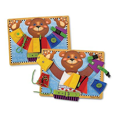 Melissa and Doug Basic Dressing Skills Board