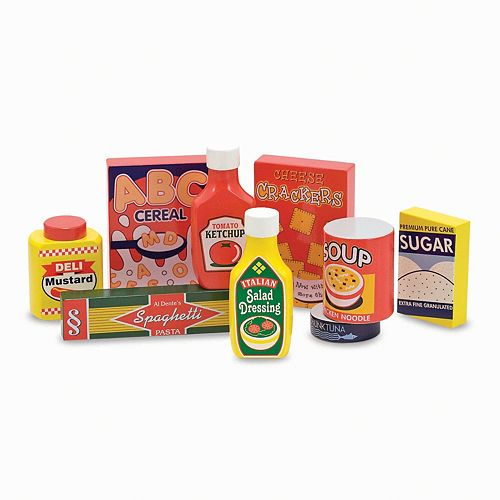 Melissa & Doug Pantry Products Set