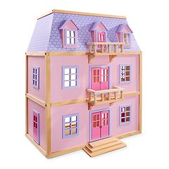 Melissa & Doug Wooden Dollhouse