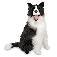 Melissa & Doug Plush Border Collie Toy