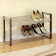 Neu Home Espresso 2-Tier Shoe Rack