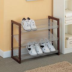 Neu Home Boston 3-Tier Shoe Rack