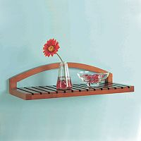 Neu Home Arched Wood Shelf
