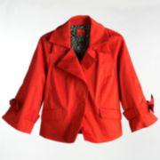 ELLE Bow Swing Jacket