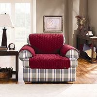 Sure Fit™ Duck Cloth Chair Pet Cover