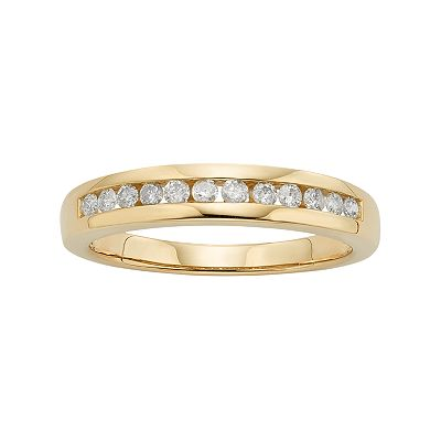 14k Gold 1/4-ct. T.W. Diamond Ring