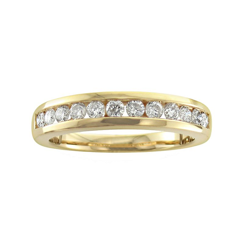 14k Gold 1/2-ct. T.W. Diamond Wedding Ring