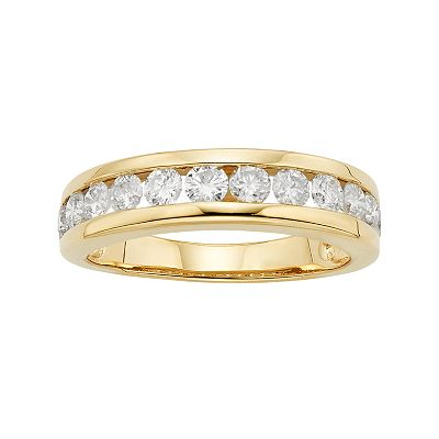 14k Gold 1-ct. T.W. Diamond Ring