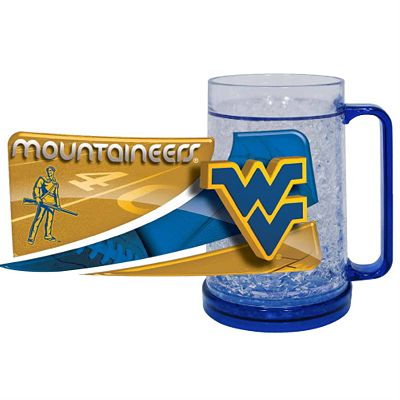 West Virginia Mountaineers Freezer Mug