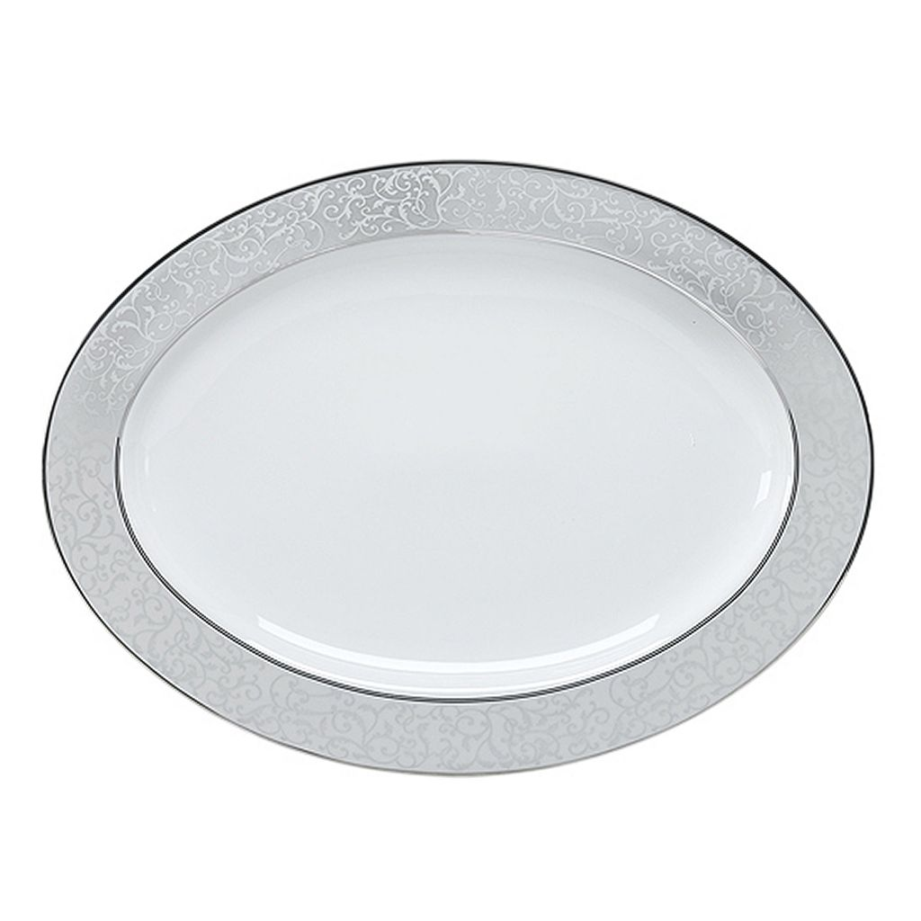 Mikasa Parchment Oval Serving Platter