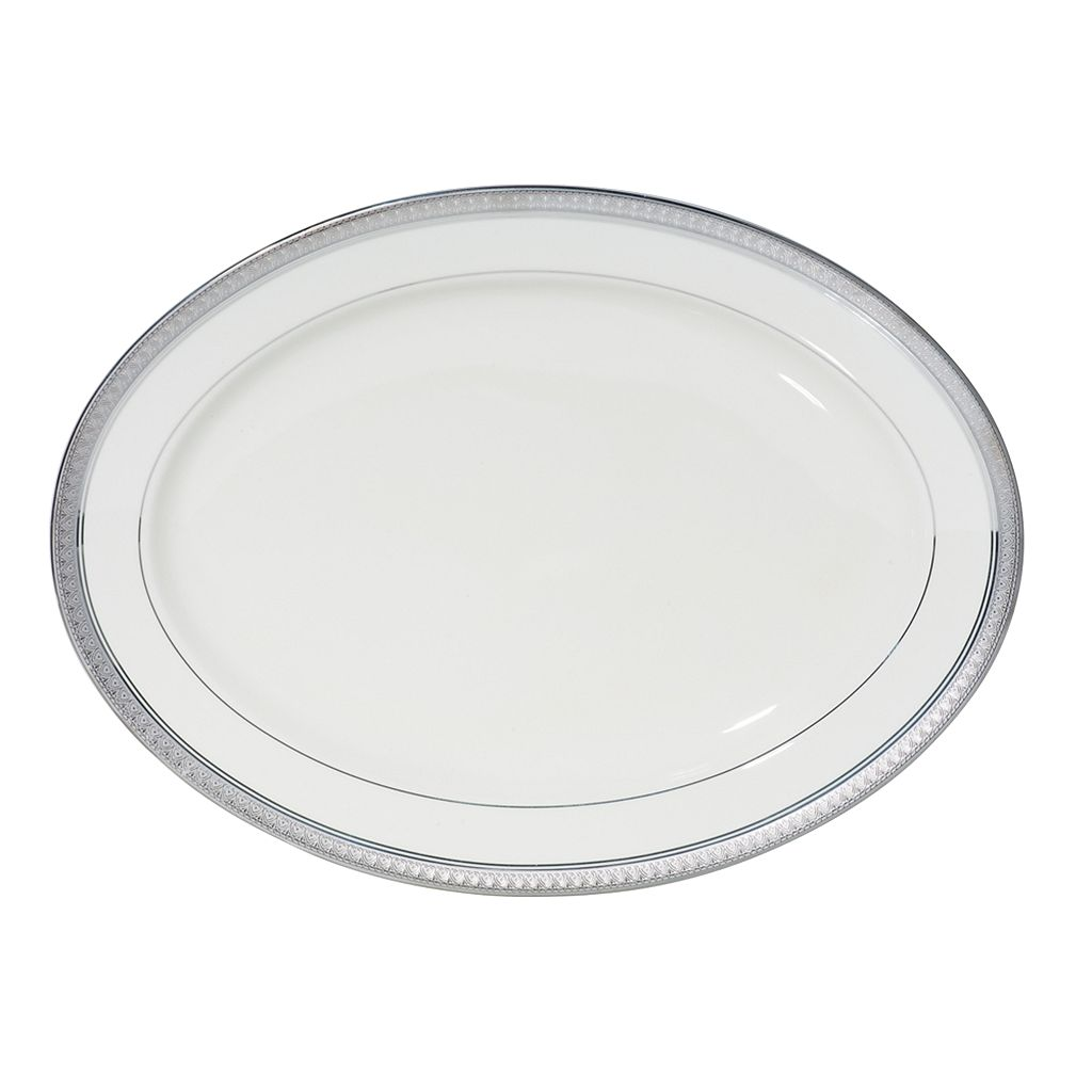 Mikasa Platinum Crown Oval Serving Platter