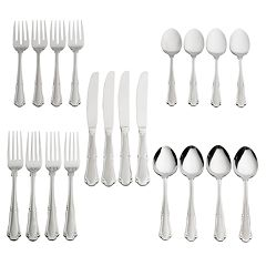 Pfaltzgraff 20-pc. Edgehill Frost Flatware Set