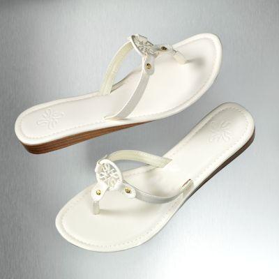 Simply Vera Vera Wang Ombre Wedge Flip-Flops