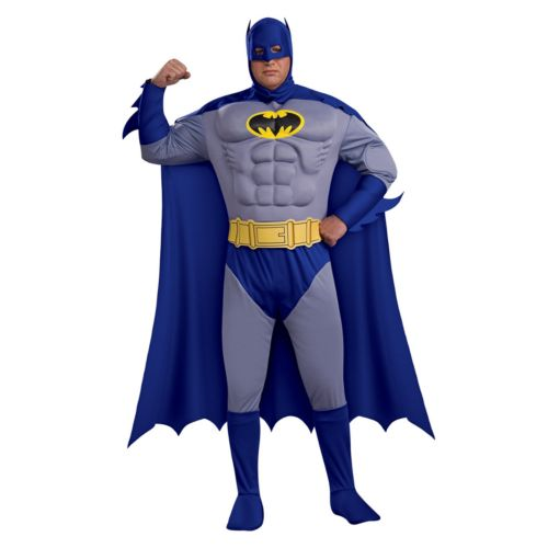 Batman Brave and Bold Deluxe Muscle Costume - Adult Plus