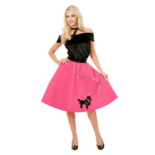 Poodle Skirt Costume - Adult Plus