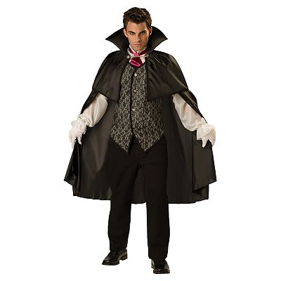 Midnight Vampire Costume - Adult