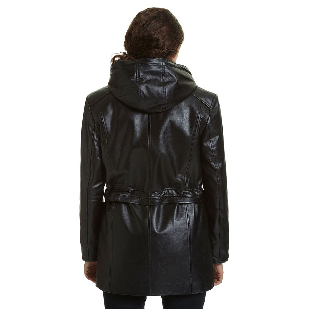 Excelled Nappa Leather Parka