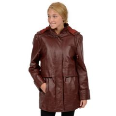 Womens Leather Coats | Kohl's