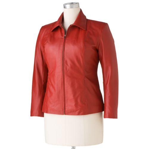 Excelled Leather Scuba Jacket - Women's Plus