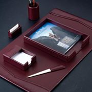 6-pc. Leather Desk Set