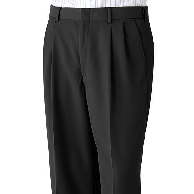 Haggar Mynx Pleated No-Iron Dress Pants
