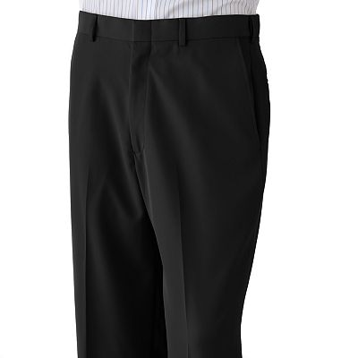 Haggar Mynx Flat-Front No-Iron Dress Pants
