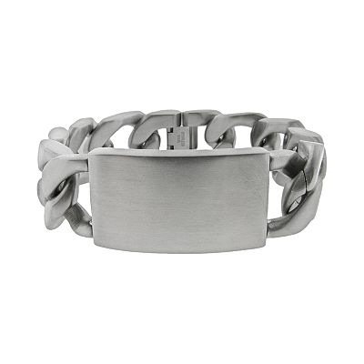Stainless Steel ID Bracelet - Men