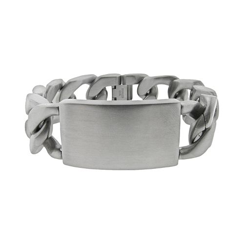 LYNX Stainless Steel ID Bracelet - Men