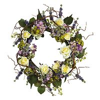 nearly natural Silk Hydrangea Wreath