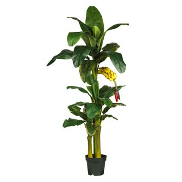nearly natural Silk Banana Tree